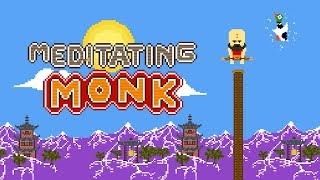 Meditating Monk Gameplay | Android Arcade Game