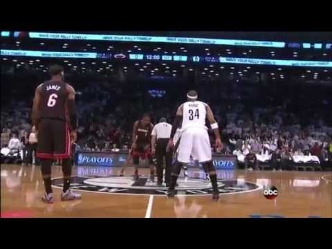 May 10, 2014 - ABC - Playoffs East Conf Semis Game 03 Miami Heat @ Brooklyn Nets - Loss (02-01)(HL)