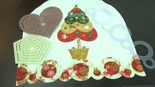 Como decorar um pano de prato para o natal