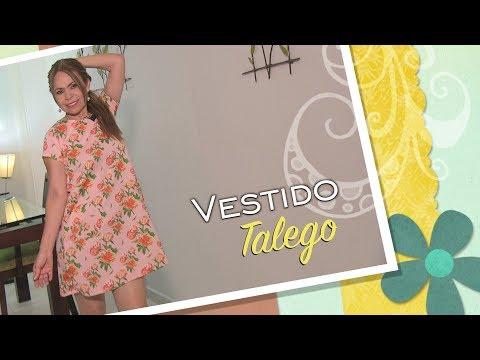 34913d780 DIY Vestido talego con Bolsillos - baggy dress with pocket- Omaira tv