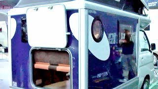 軽キャンパー DAIHATSU HIJET custom NDY727 The microvan camper selection 2014 Osaka JAPAN