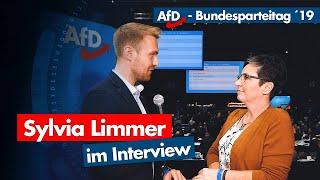 AfD-Parteitag | Sylvia Limmer im Interview