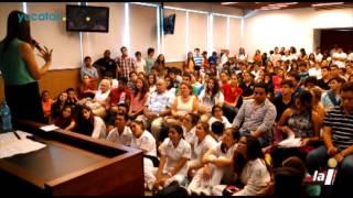 Conferencia de Margarita Zavala en la Universidad Marista