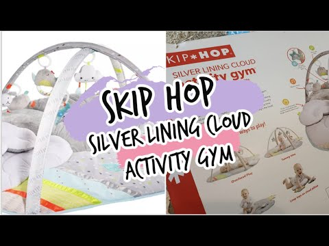 Skip Hop Silver Lining Cloud Activity Gym | Unboxing & Set Up | Multi-Colored