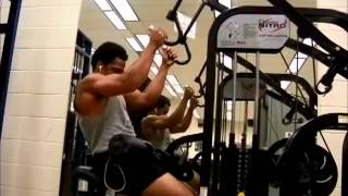 Back, calves, and forearms (full workout in description box) Thumbnail
