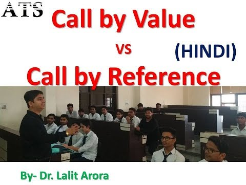 Call by value Call by reference in Hindi