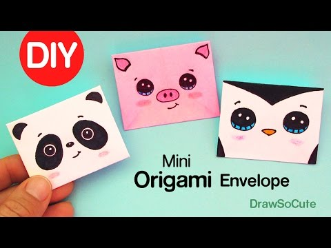 how-to-make-a-mini-origami-envelope-super-easy