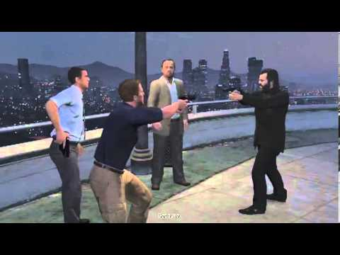GTAV - Encounter with the FIB and IAA and Merryweather