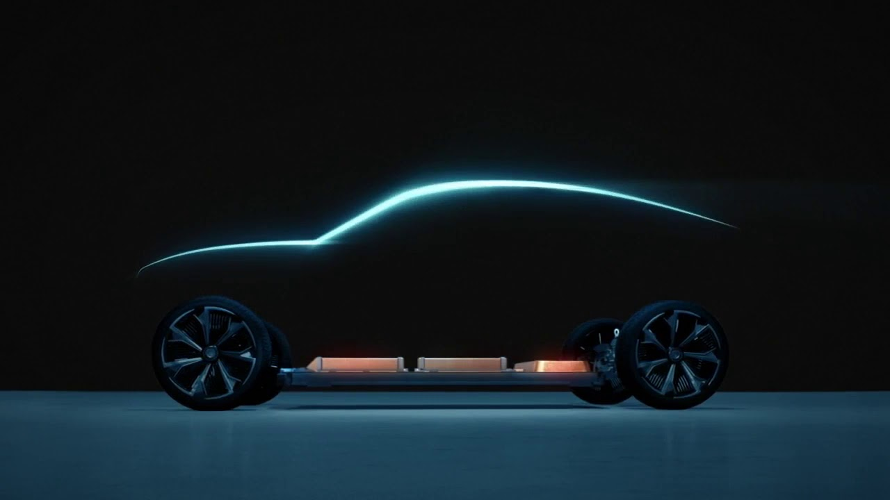 General Motors teases new electric vehicles - YouTube