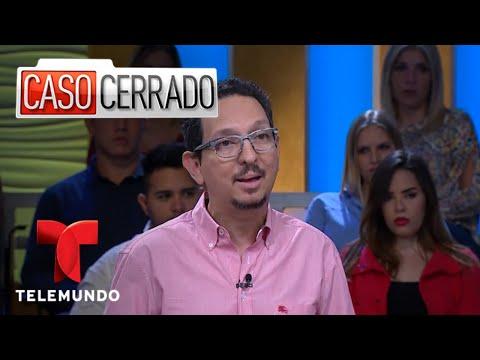Caso Cerrado   Lying Naked On The Floor In An Art Gallery 🤔🎨😱    Telemundo English