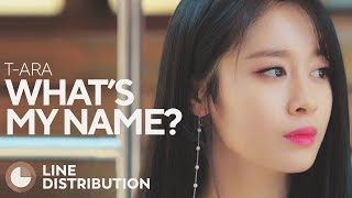 What do you think about the line distribution of What's My Name? Do...