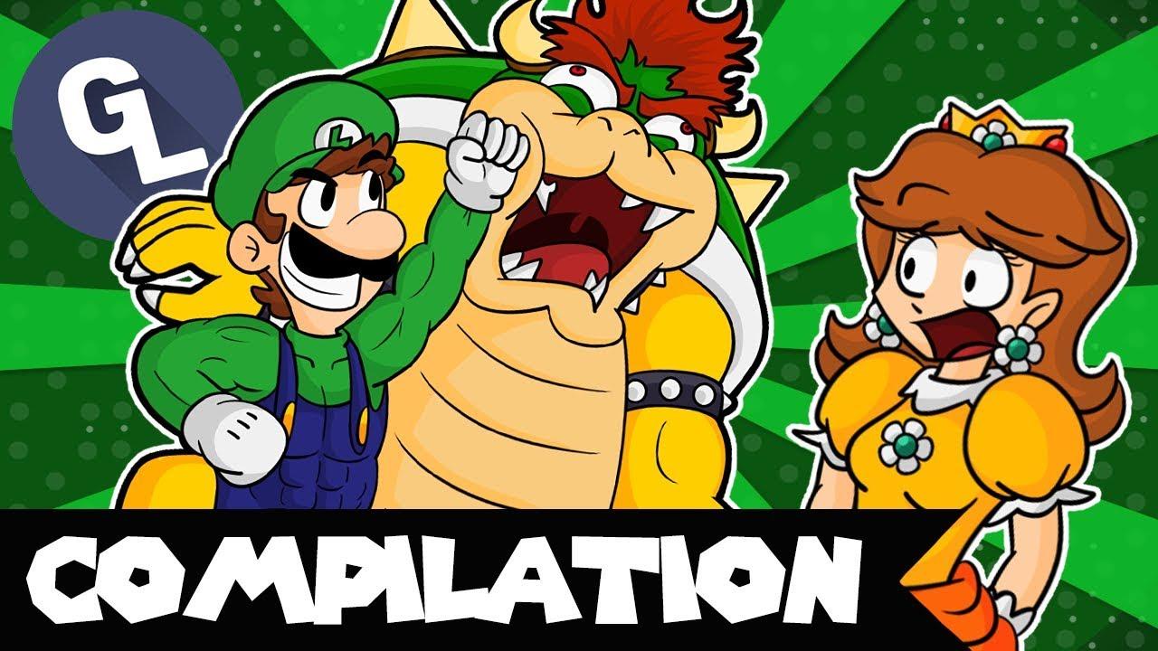 The ULTIMATE Luigi Comic Dub Compilation - GabaLeth