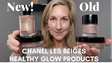 NEW! CHANEL LES BEIGES HEALTHY GLOW BRONZING CREAM +  HIGHLIGHTING FLUID + LE LINER FIRST IMPRESSION