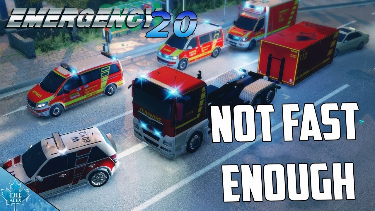 Emergency 5 - Wuppertal Mod 0.9.3 - Gameplay #1