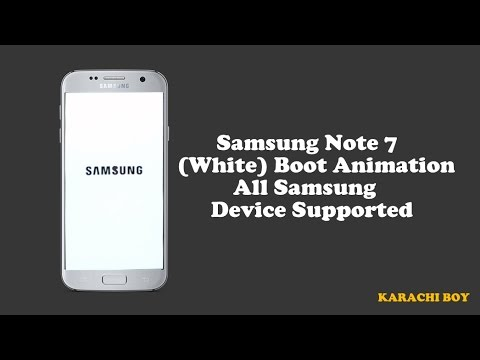 Samsung (White) Boot Animation All Samsung Device Supported
