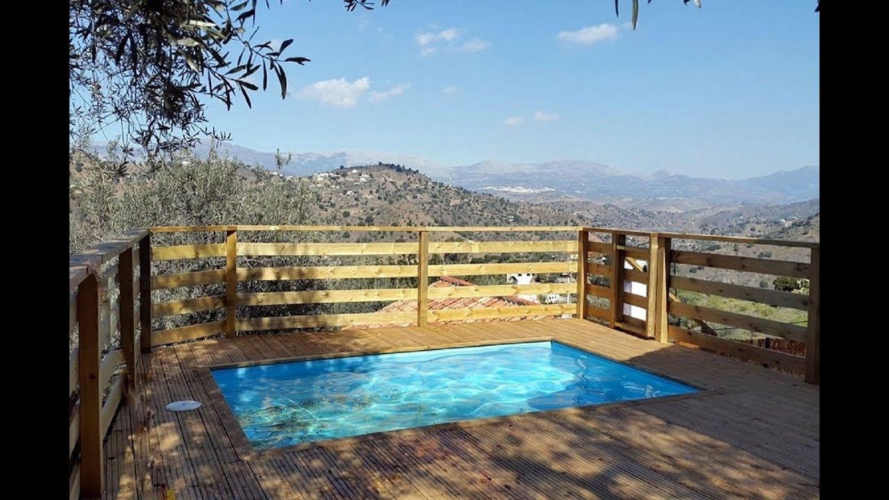 Location maison de vacances andalousie comares avec - Location vacances avec piscine privee ...