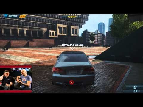 Need For Speed Most Wanted - Kinect Pwned