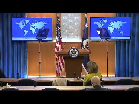WATCH LIVE: Secretary Of State Mike Pompeo Holds A Briefing At U.S. State Department