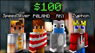 Minecraft YouTuber Tournament - $100 Hypixel Challenge