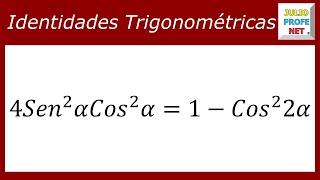 DEMOSTRACIÓN DE IDENTIDADES TRIGONOMÉTRICAS - Ejercicio 3