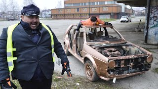 Bosanski policajac u Golfu 2