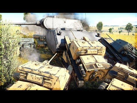 60+ Smallest Tanks In Game VS HEAVIEST TANK In Game (War Thunder)