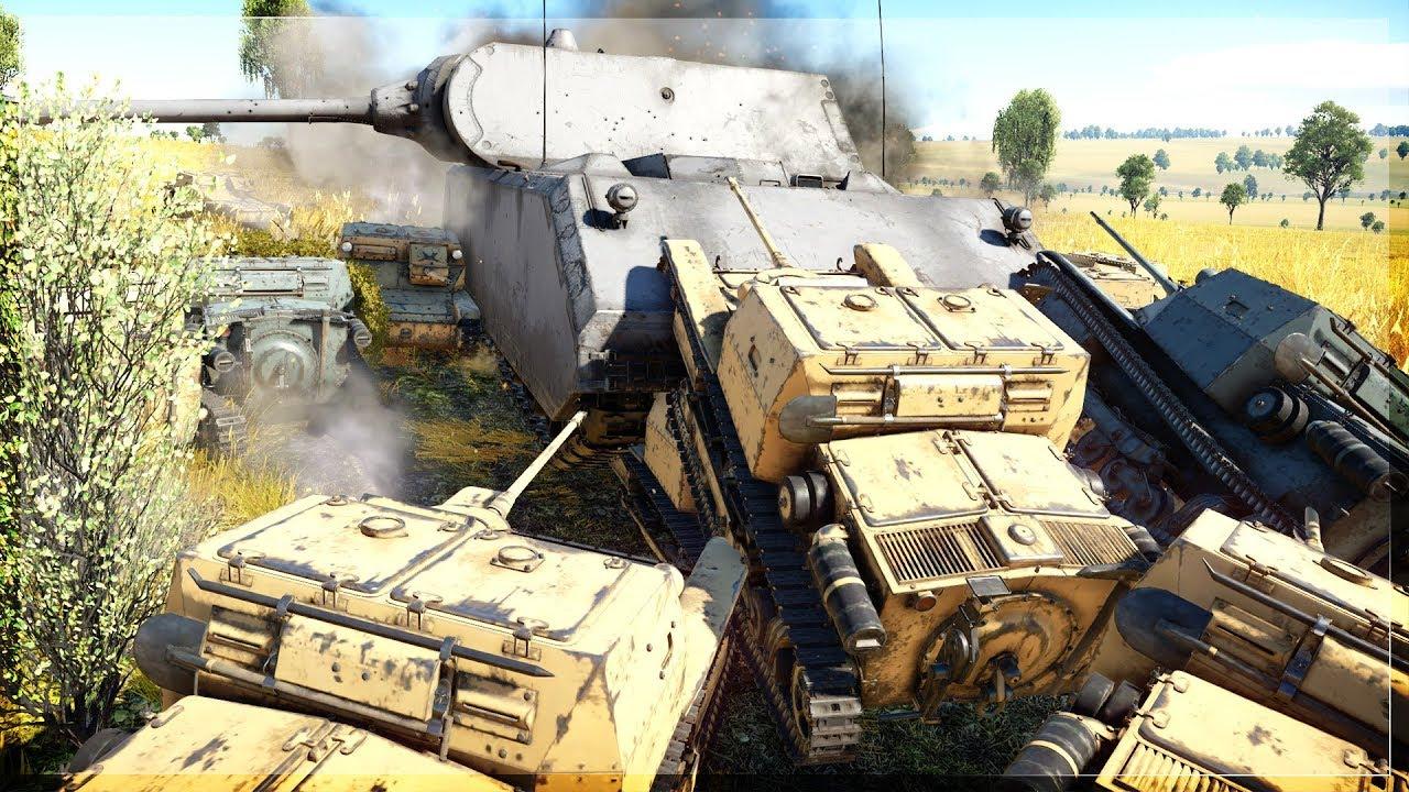 thunder war tanks