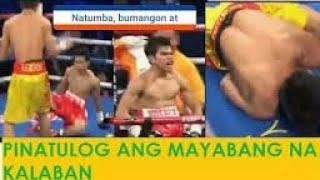 Natumba,Bumangon at Pinatulog ang mayabang na Kalaban...