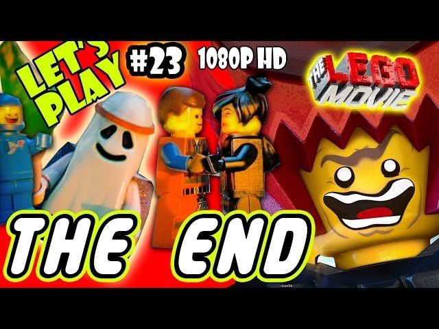 Let's Play LEGO Movie - Part 23: THE END - Lord Business Final Boss Battle | Walkthrough Wii U Travel Video