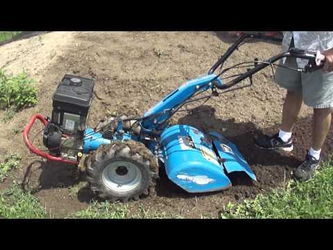 Gardener Plus (BCS) 716 Roto-Tiller - YouTube