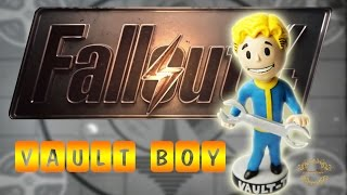 Vault boy from Polymer Clay Fallout 4  CrazyKet