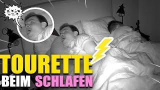 Tourette beim Schlafen- WIR zeichnen GISELA beim SCHLAFEN auf 😂 Gewitter im Kopf