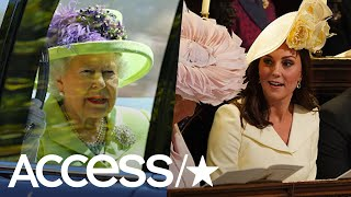 Queen Elizabeth, Kate Middleton & More Arrive At The Royal Wedding | Access