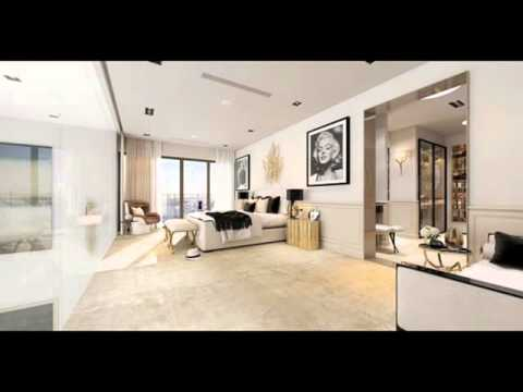 A Modern Art Deco Home Visualized in Two Styles Full HD New 2016