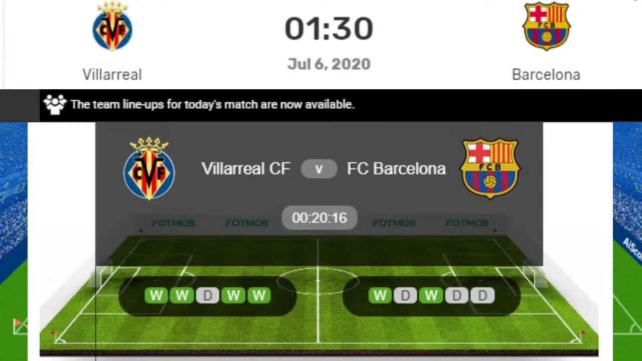 Villarreal vs. Barcelona, La Liga Live Stream, Schedule, Starting ...