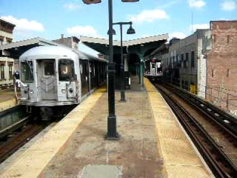 Riding from Marcy Avenue to Myrtle Avenue in an R42