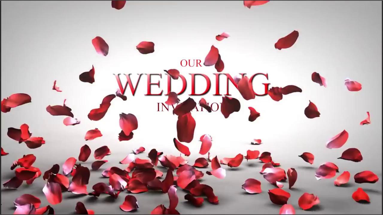 BEST EVER WEDDING INVITATION 2017 || FOCUS N CLICK - YouTube