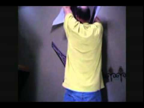 How To Put Up Wall Decals YouTube - How to put a wall decal up