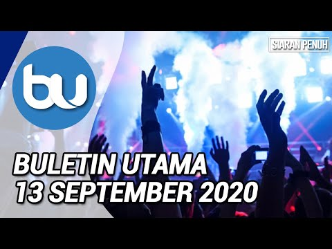 Buletin Utama TV3 Jam 8 Malam (13 September 2020)