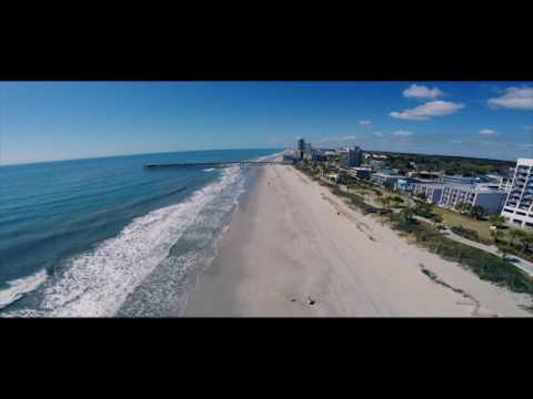 Myrtle Beach SC Aerial View Drone Footage