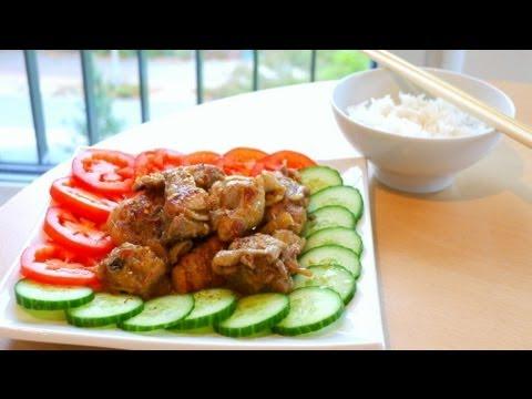 Lemongrass Chili Chicken - Ga Xao Sa Ot