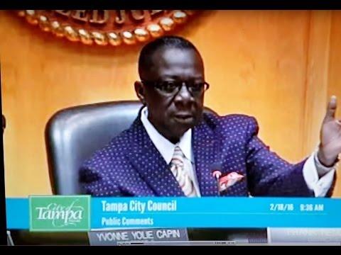 Tampa City Council Decrim (Part 1)