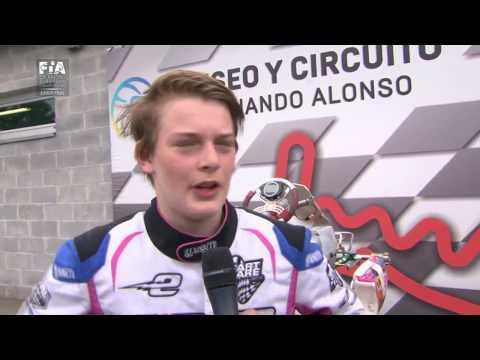 CIK FIA EUROPEAN CHAMPIONSHIP 2017 ROUND 2 JUNIOR FINAL
