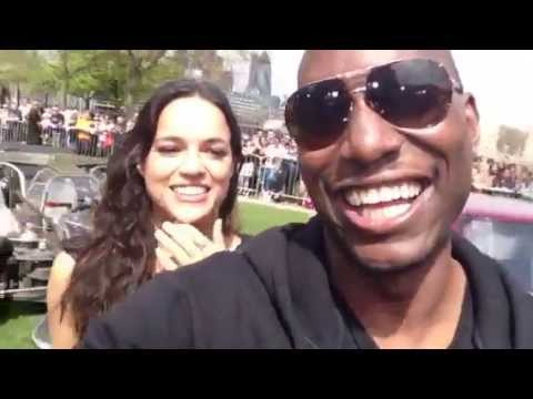Fast & Furious 6 Crew in London - Exclusive Vin, Paul, Jordana, Luda, Michelle