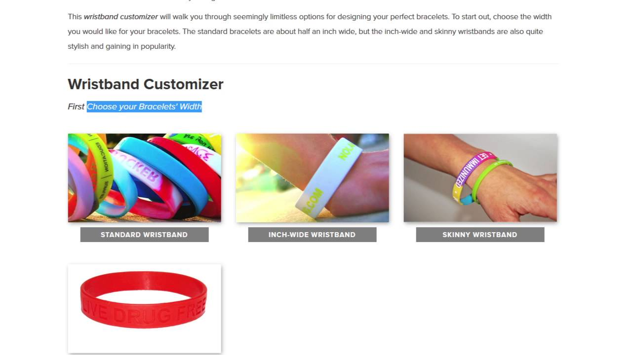 Making Your Own Custom Wristbands Or Silicone Bracelets