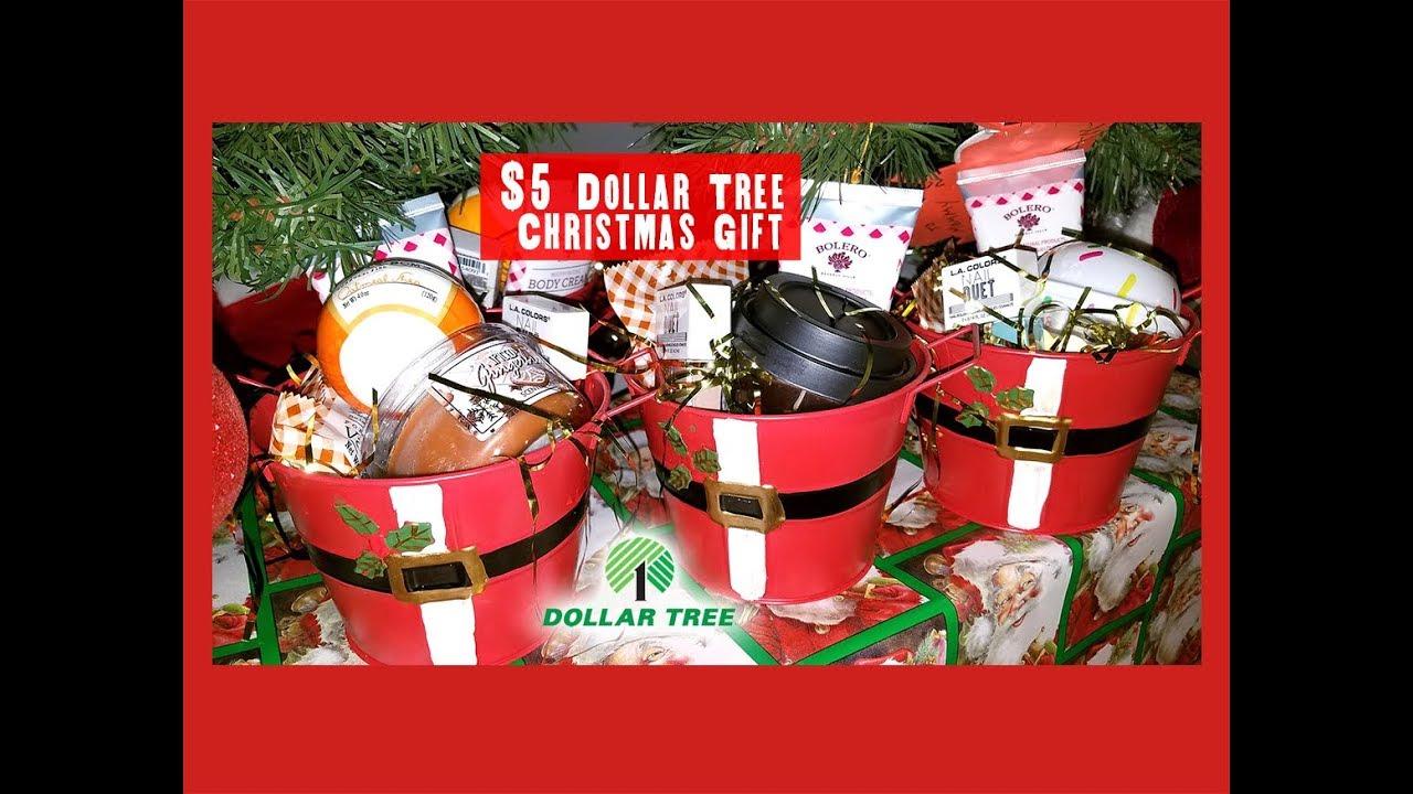 Dollar Tree $5 Christmas Gift 2017 🎄 - YouTube