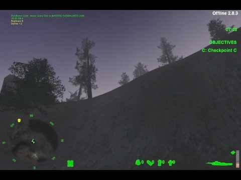 S.F. E & E Training Video Americas Army Video Game Part 3