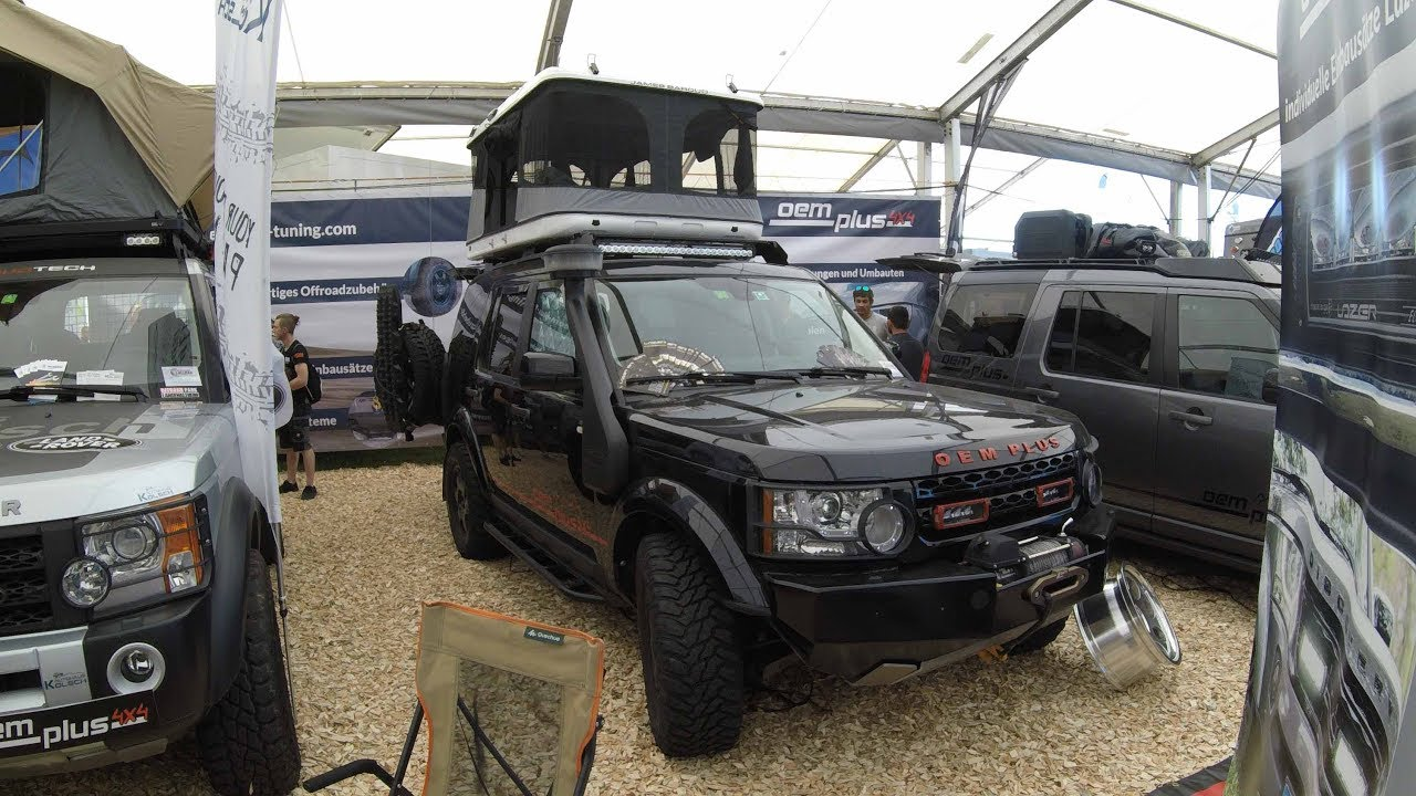 LAND ROVER DISCOVERY 4 OEM PLUS JAMES BAROUD CAMPER
