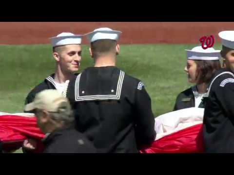 Nationals Opening Day Ceremonies 2019