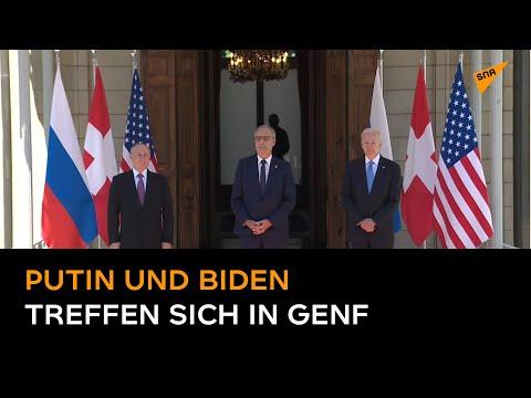 US-Russland-Gipfel in Genf: Protokoltreffen